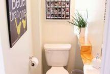 Bathroom ideas / Ideas for a small bathroom