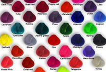 Hairdye ideas / Hair dye/colourant ideas and inspiration