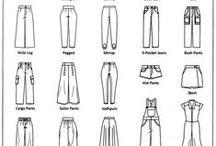 Dessin technique Vêtement