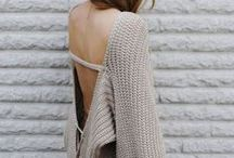 Chunky Knits / My love for the good old chunky knits