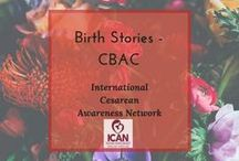 Birth Stories - CBAC / Birth stories highlighting trial of labors that end in another cesarean birth