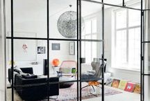 livingroom ideas / a small but colourful and fun living room