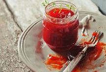 Jams & Preserves / Jars of goodness. Make your own conserve!