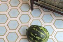 tile gallery / ::: handmade contemporary cement tiles from popham design