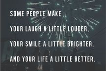 Friendship quotes / I cherish every moment that I spend with my friends, love these quotes xo