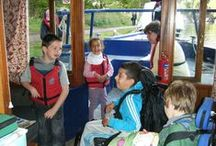 Fun On The River / Our clients - people with disabilities - enjoying a great time on the river on our specially adapted canal boats