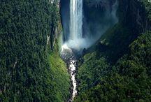 Falls & Water Ways / Rivers / by Reggie Sweetthing.