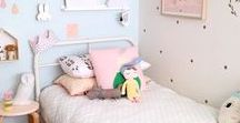 Toddler Bedroom Inspiration / Inspiration for a toddler's bedroom including nature, woodland, pastels, brights and a range of styles.