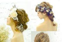 花嫁髪型 Bridal Hair