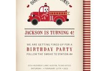 Firetruck Party / Lachlan's 4th Birthday Party!