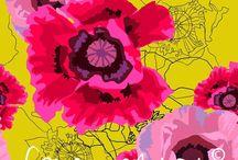 Franca Westaway Design / Textile design, surface pattern design, illustration, prints, wall art, fabric design, fabrics, wallpaper, licensing and commissions  www.francawestaway.com