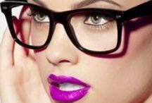 Glasses for Women / Glasses and Spectacles for Women.  And rarely for Men. / by Heidi Ohlander