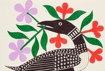 art & illustration / illustration, paintings, prints, various pretty things! / by Sarah Green