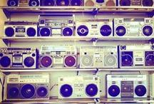 Music Headphones & Boomboxes / by Heidi Ohlander