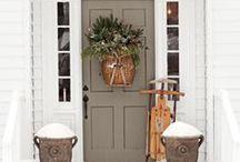 {home} seasonal entryways / by Krayl Funch / An Appealing Plan