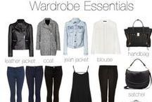 Capsule Wardrobe / Travel wardrobes & Capsule wardrobes.  They make traveling easy, and dressing in life even easier. / by Heidi Ohlander