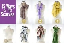Scarves (and how to tie them) / by Heidi Ohlander