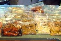 Homemade: Food Prepping~Freezing~Storing / Fast Healthy Food and Meals