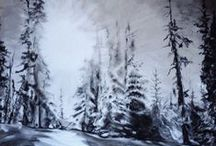 Art by Heidi the Artist / My paintings - drawing - artworks