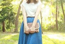 street style / casual gamine eclectic retro-inspired stuff to walk around town in. / by erinne elise