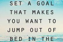 2015 {goals + inspiration} / by Krayl Funch / An Appealing Plan