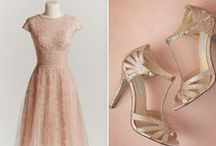 Bridal Party / What I want my Bridal Party to look like. Beach casual, creams, gold, beige, light browns, flowy and fun