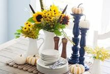 Table Styling / by Sweet Harvest Moon (Sara)