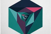 Math art / Art based on geometry / by Seth Wandersman