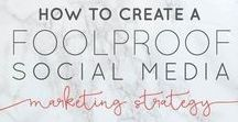 Social Media Standout / Social media strategies to have you shining and seen