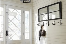 Entryway Decor Ideas / Entryway Decor Ideas, Mudroom Design Ideas, Mudroom Renovation, Foyer Makeover, Entryway Storage and Organization