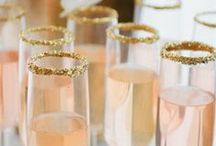 Wedding Cocktail / These are our favorite ideas for gorgeous wedding reception drinks that will add spark to your beautiful reception. x