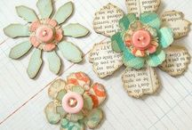 Card templates and embellishments