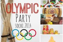 Olympic-Themed Party Ideas / From appetizers to entrees, to games and decor, here's everything you'll need to host an Olympics party!