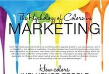 Colour in Business Marketing / by Creative Business Coach™