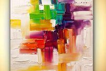 Colors / Pintures i dibuixos amb molt de color