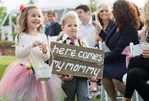 Ring Bearers / Cute ways to include your children or pets in your wedding. Have a stylish ring bearer!
