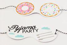 Pyjama party / Plein d'idée pour des pyjamas party réussi !!!