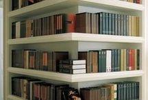 House: bookshelves