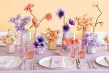 Wedding Centerpieces / Get inspired with our favourite centerpieces and create a memorable wedding table!