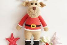 Noël - renne / Crochet - Inspirations Noël renne