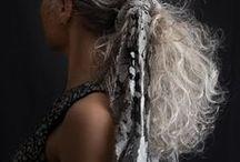 HAIR - GREY