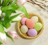 Pâques - Oeufs / Crochet - Inspirations pâques - oeuf