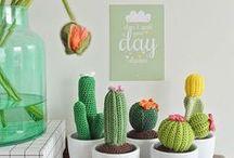 Cactus & succulentes / Crochet - Inspirations cactus & succulentes