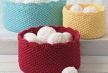 Paniers & Corbeilles / Crochet - Inspirations Paniers & Corbeilles