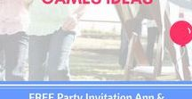 Birthday Party Games and Activities for Kids DIY / Busy? Don't worry. Here you will find easy and fun game ideas for kids birthday parties - specially for busy parents. Download the free birthday party invitation app for your party invitation at www.wishme.io - let's start getting excited!