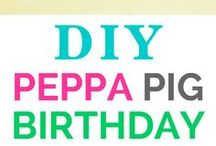 Peppa Pig Birthday Party Ideas / Peppa Pig is all the rage - so why not dress up your little as Peppa Pig and send their cute video party invitation through Wish Me party invitation app - available at www.wishme.io. Check back for more fun ideas on how to plan a peppa pig birthday party!