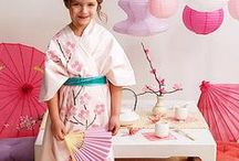 Japanese Tea Birthday Party Ideas / Your little deserves a magnificient Japanese tea birthday party and... you can find some perfect inspiration right here. Create the perfect tea birthday party moments for her...  And..start creating the best party moments by sending your own memorable video or photo birthday party invitation with our free birthday invitation app. Download today at www.wishme.io and tag us @wishme_app to show off your tea birthday party creations!