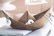 Nautical Birthday Party Ideas / When you miss the boat, maybe its time to plan a nautical theme birthday party. Here you will find inspiration and design ideas for your perfect nautical birthday party.  You can send your birthday party invitations by downloading our free photo and video birthday party invitations app @ www.wishme.io - and start saving the moments that matter, in a nautical manner ;)