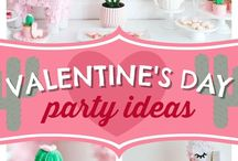 Valentine's day kids party ideas / Hugs and kisses - and love! That's what valentines day is all about. Celebrate love everyday and specially on Valentine's day with these lovely party ideas.