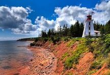◄ Prince Edward Island ► / If you are lucky enough to live here, you know the beauty of this island first hand!  If you have visited, enjoy the scenic memories.  If you have never been to Prince Edward Island, make it your next vacation destination!  Home to Lucy Maud Montgomery's - Anne of Green Gables / by Miss Perry
